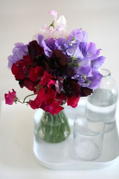 sweet peas reminds me of my Grandmother!