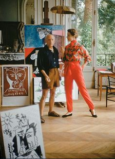 Picasso. would totally wear his outfit...