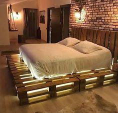 Awesome Unordinary Recycled Pallet Bed Frame Ideas To Make It Yourself. furniture ideas Unordinary Recycled Pallet Bed Frame Ideas To Make It Yourself