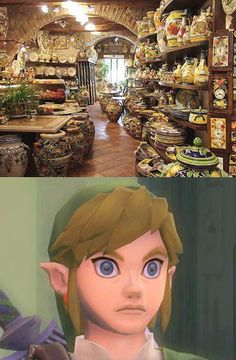 Link, can't contain himself...