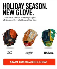 Custom softball gloves are personalized and made specifically how you want. Please allow up to 12 weeks for delivery! Custom Softball Gloves, Fastpitch Softball Gloves, 12 Weeks, Helpful Tips, Diys, Delivery, Baseball, Quotes, Bricolage