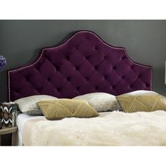 $198 Found it at Wayfair - Grant Upholstered Panel Headboard