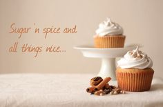 The Kate Tin: Chai cupcakes with marshmallow frosting