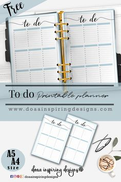 This week printable is a worksheet for to do list to record your tasks … I hope you like it. To get this Printable JustSign up now and the password to the member's page will be sent right to your inbox! Download .. Print it ..and Enjoy <3 Check out my other designs inETSY shop Follow me onInstagram|Facebook|Pinterest Share your planner photos on Hashtag #doaainspiringdesigns  Related