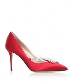 18f058cee215 Manolo Blahnik Satin Nadira Pumps 100 available to buy at Harrods.Shop  women s shoes online