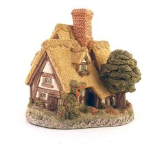 Pilgrim's Rest David Winter Cottage Figurine Christmas village house. Available at: www.TidBitz.etsy.com, $12.00