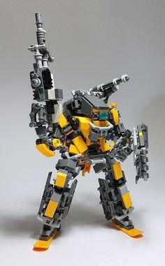 LEGO Robot Mk10-16   by ToyForce 120