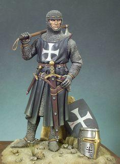 Caballero (c.1300) miniature knight.