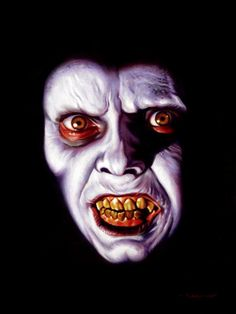 The demon Pazuzu, The Exorcist - artwork by Jason Edmiston Horror Icons, Horror Films, Arte Horror, Horror Art, Real Horror, Clown Horror, Jason Edmiston, The Exorcist 1973, Evil Dead