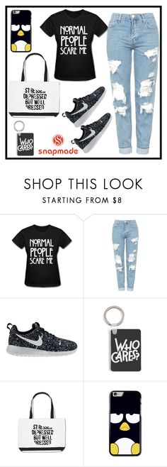 """Snapmade 10."" by b-necka ❤ liked on Polyvore featuring Topshop, NIKE and snapmade"