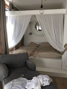 Soňa Malinová: Honeymoon Bedrooms, Curtains, Home Decor, Blinds, Decoration Home, Room Decor, Bedroom, Draping, Home Interior Design