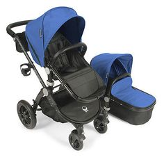 Baby #roues letour avant stroller - #cobalt with black #frame - free shipping!,  View more on the LINK: 	http://www.zeppy.io/product/gb/2/381258980788/