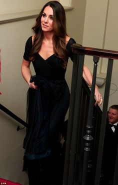 The Duchess of Cambridge arrives at a gala dinner in aid of Action on Addiction hosted by the 100 Women in Hedge Funds Philanthropic Initiatives
