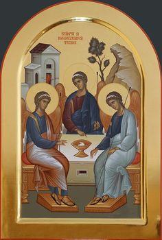 Byzantine Art, Orthodox Icons, Kirchen, Trinidad, Angles, Princess Zelda, Painting, Fictional Characters, Medicine