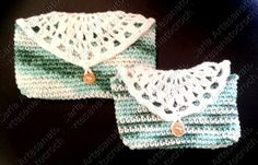 Bolsinhas em crochet