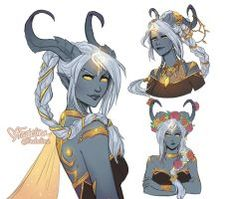 Kivaa (Lightforged Draenei) by Faebelina