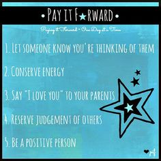 Pay It Forward Quotes Unique International Pay It Forward Day  Thursday 25Th April 2013 .