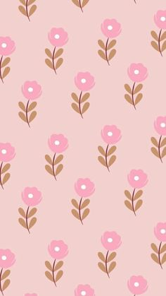 Flowers wallpaper iphone prints 15 Ideas for 2019 Cute Wallpaper Backgrounds, Tumblr Wallpaper, Pink Wallpaper, Screen Wallpaper, Pattern Wallpaper, Cute Wallpapers, Iphone Wallpaper, Pattern Art, Pattern Paper
