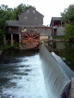 Old Mill. Pigeon Forge