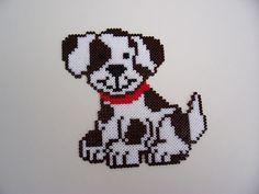 Hund Bügelperlen - Dog Hama Perler beads