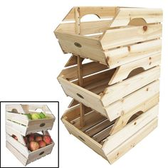 This #wooden Fruits Storage Box is a practical way to storage your #vegetables and #fruits at your #kitchen or #garage or any other room at #home. It helps to develop a sense of order and provides a cosy habitat for your potatoes, onions or fruits. Local fruits & local vegetables are #healthy and stay #fresh for days without having to be refrigerated. #storage #ebay