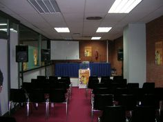 Sala de conferencias. COOC Alternativa de Diseño.