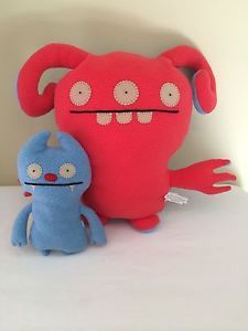 "24.99- both Ugly Doll Turny Burny and Gato Stuffed Animal Toys 13.5"" and 8"""