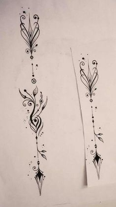 Image result for wiccan arrow tattoo ideas #necktattoosideas