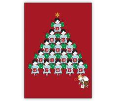 Weihnachtspyramide aus süßen Engeln auf rot als Weihnachtskarte - http://www.1agrusskarten.de/shop/weihnachtspyramide-aus-susen-engeln-auf-rot-als-weihnachtskarte-frohe-weihnachten/    00000_1_2410, Grusskarte, Klappkarte Rentier, Santa Sterne, Schneemann, Tanne, Weihnachtsbaum Engel, Weihnachtsmann, Winter00000_1_2410, Grusskarte, Klappkarte Rentier, Santa Sterne, Schneemann, Tanne, Weihnachtsbaum Engel, Weihnachtsmann, Winter