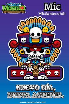 Mic, El dios Mictlantecuhtli, el señor de los muertos.