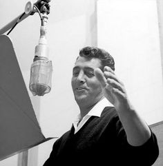 Dean Martin - I could listen to Dino croon all day.  .  .