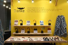 Danke Umbrella Gripper Booth at the 2013 International Gift Show Exhibition Booth Design, Exhibition Display, Exhibition Space, Japan Design, Graduation Project, Retail Space, Display Design, Graphic Design Illustration, Packaging Design
