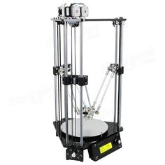 DIY Geeetech Delta Rostock Mini G2s Dual Extruder 3D Printer Kit With Auto-leveling Sale - Banggood.com