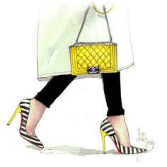 Fashion Illustration Shoes, Beauty Illustration, Celebrity Books, Streetwear Jackets, Louis Vuitton Agenda, Hand Lettering Art, Fashion Artwork, Beautiful Sketches, Boutique Logo