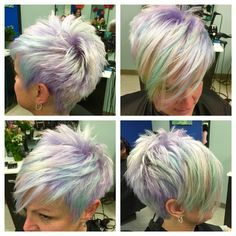 Opalescent hair color!