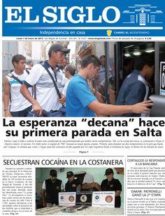 Diario El Siglo - Lunes 7 de Enero de 20 13