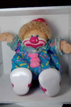 80s toys Vintage Cabbage Patch Kid Boy Circus Kids 80s by ellies80stoybox, $18.00