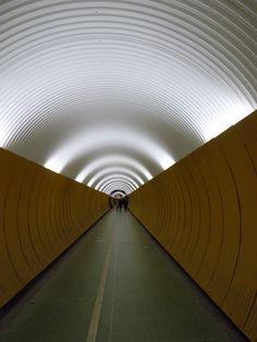 pedestrian tunnel, Stockholm