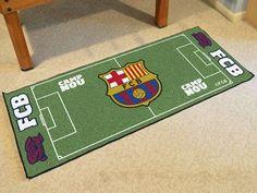 """FCBarcelona Football Field Runner 30""""x72"""""""