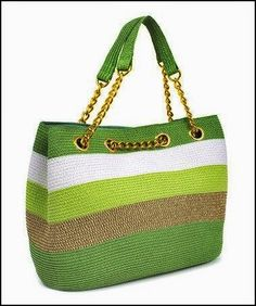 Trendy Ideas for knitting bag sewing crochet Crochet Shell Stitch, Bead Crochet, Crochet Stitches, Crochet Baby, Crochet Handbags, Crochet Purses, Diy Sac, Bag Patterns To Sew, Sewing Patterns
