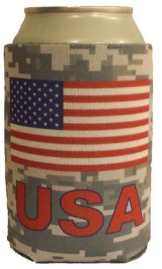 4403c51cf68a8 USA Koozie - America - High Quality Can Coozie! - Show American Pride for  Memorial
