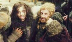 Bofur Fili and Kili