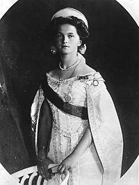 Dochter Olga geboren op 15 november 1895