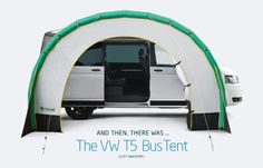 Deze opblaas tent is perfect voor je VW California.
