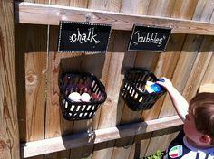 Outdoor organizing
