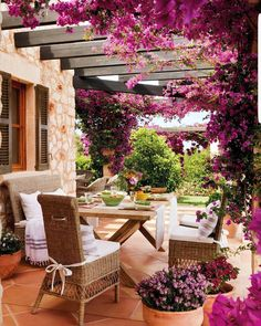 The wooden pergola is a good solution to add beauty to your garden. If you are not ready to spend thousands of dollars for building a cozy pergola then you may devise new strategies of trying out something different so that you can re Backyard Ideas For Small Yards, Backyard Patio Designs, Small Backyard Landscaping, Patio Ideas, Landscaping Ideas, Small Patio, Backyard Pergola, Porch Ideas, Inexpensive Landscaping