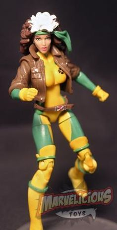 "ROGUE - MARVEL UNIVERSE 3.75"" UNCANNY X-MEN TEAM PACK FIGURES // Marvelicious Toys - The Marvel Universe Toy & Collectibles Podcast"