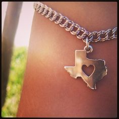 Deep in the heart of Texas charm from James Avery- my grandparents gave me this as a gift :)