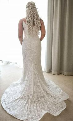 Nikki Pratt August 2018 wearing Bridal and Ball style Thank you for sharing your photos Vintage Bohemian, Vintage Lace, Affordable Wedding Dresses, Ball Dresses, Wedding Designs, Wedding Gowns, Evening Dresses, Bridesmaid, Bridal