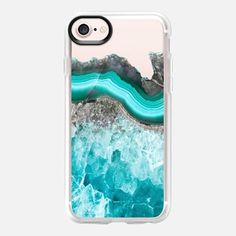Casetify iPhone 7 Classic Grip Case - Fresh Water Agate by Emanuela Carratoni